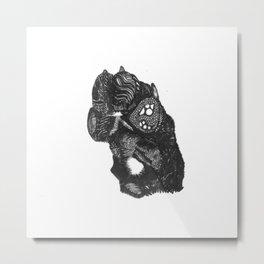 High Four Metal Print