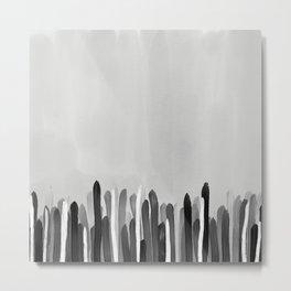 Neutral Painted Metal Print