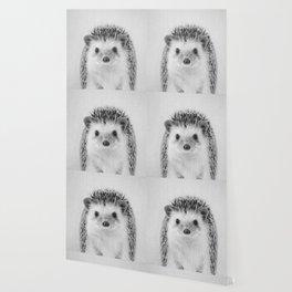 Hedgehog - Black & White Wallpaper
