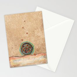 Seed Pod with Pearls Stationery Cards