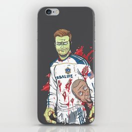 Zombie Beckham iPhone Skin