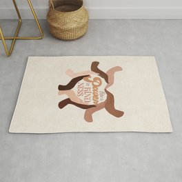 There is Power in Kindness Rug