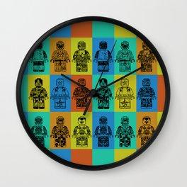 leggo man #4 Wall Clock