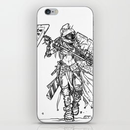 Post-Catastrophe Arena Challenger iPhone Skin