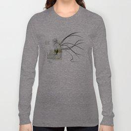 sitting Long Sleeve T-shirt