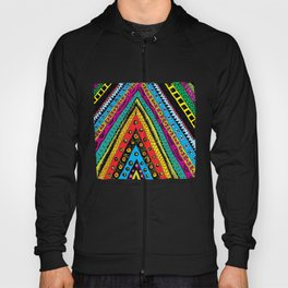 colorful triangle tribal Hoody