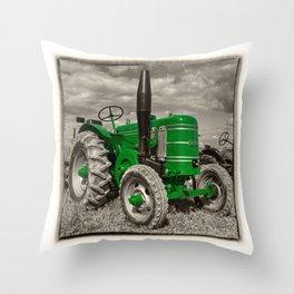 Green Marshall Throw Pillow