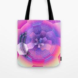 geometrical abstract vb Tote Bag