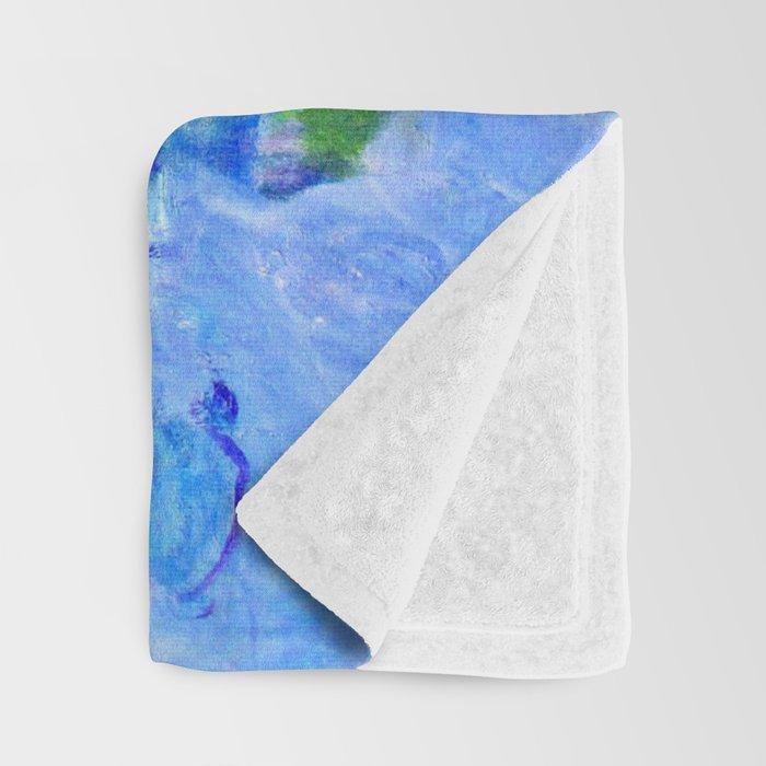 Water Lilies monet : Nympheas Throw Blanket