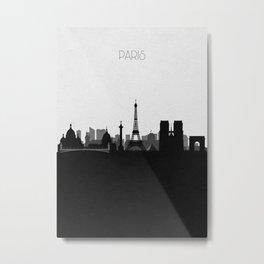 City Skylines: Paris Metal Print