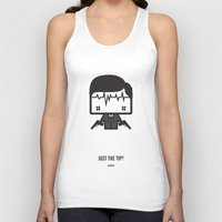 archer Tank Tops featuring Archer by the curious brain