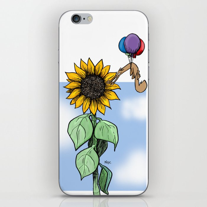 Floating toward a dream iPhone Skin