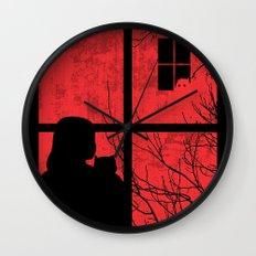 A Strange Encounter Wall Clock