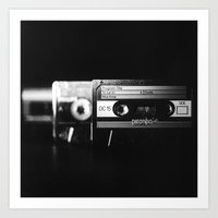 Cassettes #1 Art Print