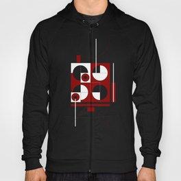 Geometric/Red-White-Black  1 Hoody
