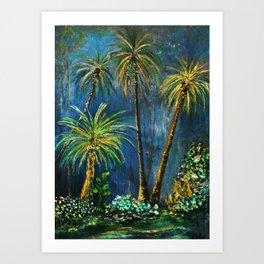 Paradise Palms Art Print