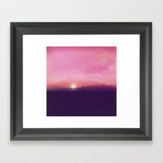 Sunsetter Framed Art Print