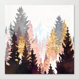 Wine Forest Canvas Print