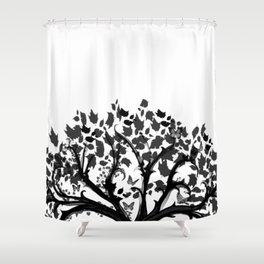 The Zen Tree Shower Curtain