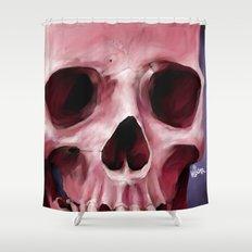 Skull 8 Shower Curtain
