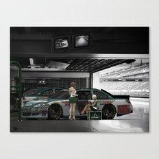 Dale Jr. Interview. #NASCAR Canvas Print