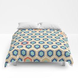 Digital Honeycomb Comforters