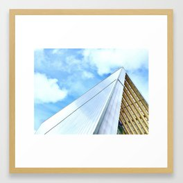 The Cardboard Cathedral Framed Art Print