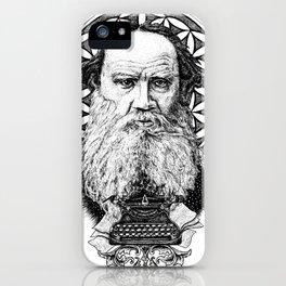 Tolstoy iPhone Case