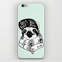 Sloth Tattooed iPhone Skin