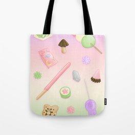 Weeaboo Candy Tote Bag