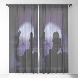 Mermaid Sheer Curtain