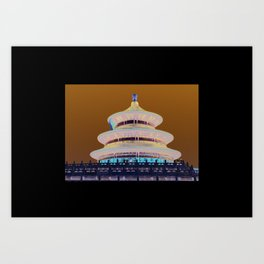Colours of the World! Art Print