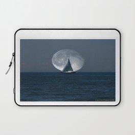Full Moon Sailing Laptop Sleeve