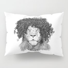 The Bling King Lion Pillow Sham