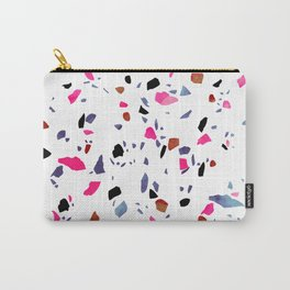 Autumnal Terrazzo Carry-All Pouch