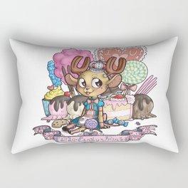 cotton candy prince Rectangular Pillow