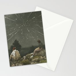 Exploding sky Stationery Cards