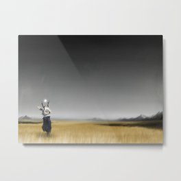 Strangely Isolated Place Metal Print