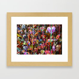 Colors of Mexico Framed Art Print