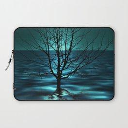 Tree in Ocean Laptop Sleeve