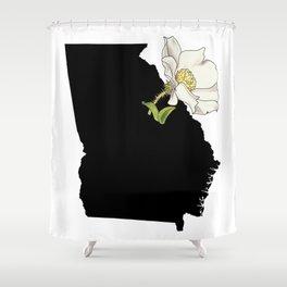 Georgia Silhouette Shower Curtain