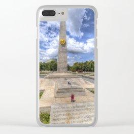 Russian World War 2 Memorial Budapest Clear iPhone Case