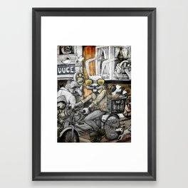 My Neighborhood Framed Art Print