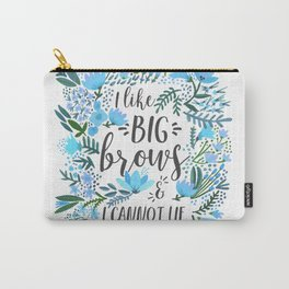 Big Brows – Blue Palette Carry-All Pouch