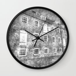 House Mill Bow London Vintage Wall Clock