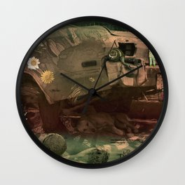 THE BOOK OF ILLUSIONS 009 Wall Clock