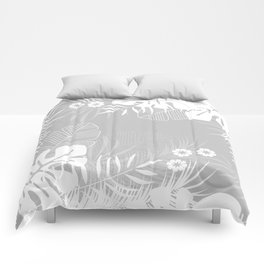 Tropical pattern 046 Comforters
