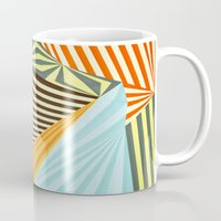fall Mugs featuring Yaipei by Anai Greog