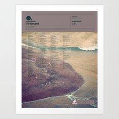 The Visual Mixtape 2010 | Actor | 24 / 25 Art Print
