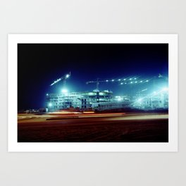 Lights in the Night Art Print